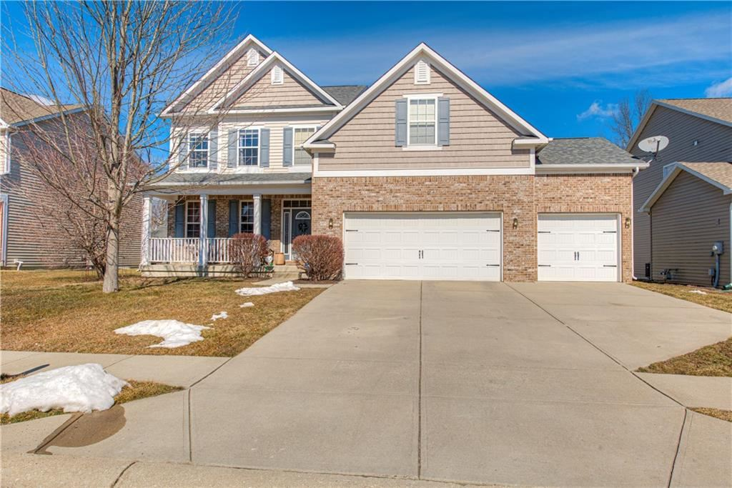 6114 Golden Eagle Drive, Zionsville, IN 46077 - #: 21766171