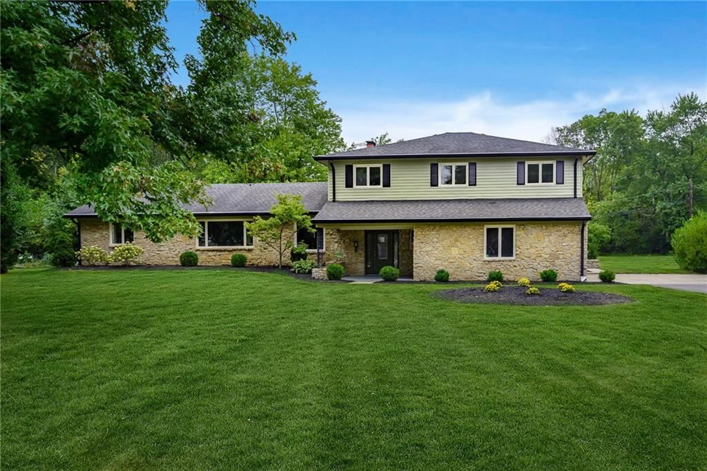 460 Braeside North Drive, Indianapolis, IN 46260 - #: 21696193