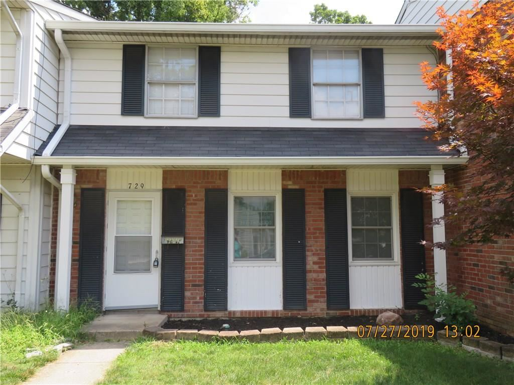 729 SOUTHFIELD Court #61, Indianapolis, IN 46227 - #: 21656203