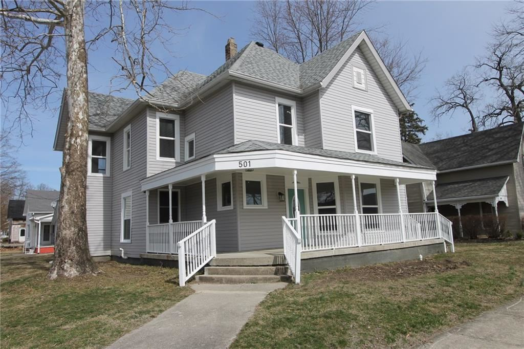 501 North East Street, Greenfield, IN 46140 - #: 21702221