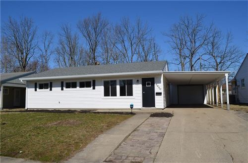 Photo of 6640 East 52nd Street, Indianapolis, IN 46226 (MLS # 21696229)