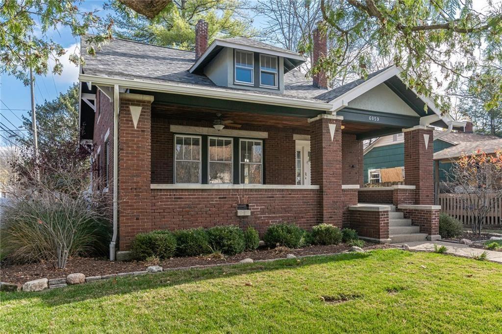Photo of 6059 Carrollton Avenue, Indianapolis, IN 46220 (MLS # 21752230)