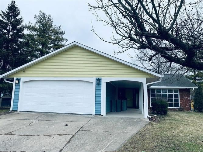5417 Armstrong Court, Indianapolis, IN 46237 - #: 21697266