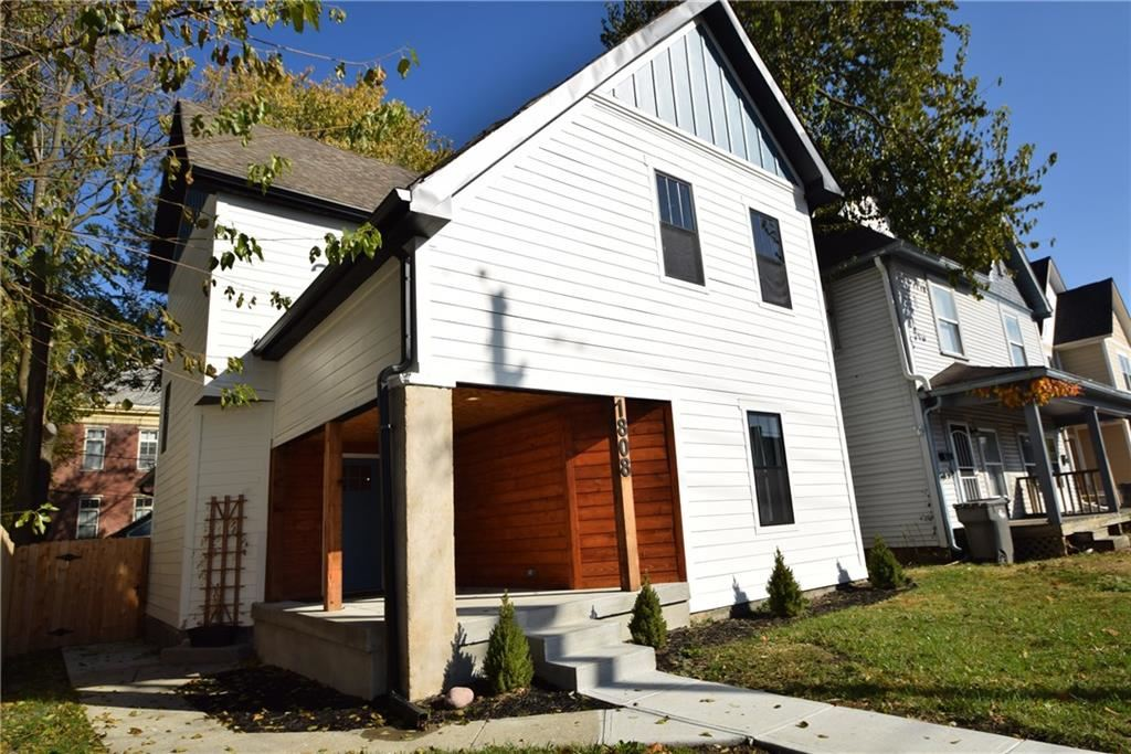 1808 East 11th Street, Indianapolis, IN 46201 - #: 21662279