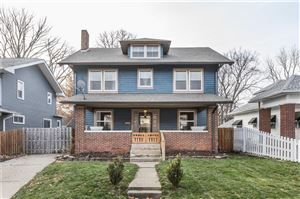 Photo of 3228 North College, Indianapolis, IN 46205 (MLS # 21609287)