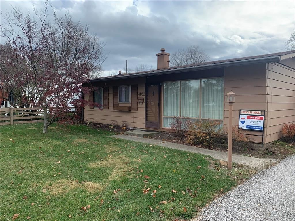 4031 Thrush Drive, Indianapolis, IN 46222 - #: 21750292