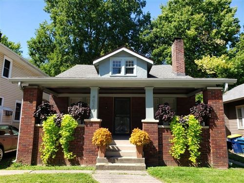 Photo of 4020 North Illinois Street, Indianapolis, IN 46208 (MLS # 21783297)