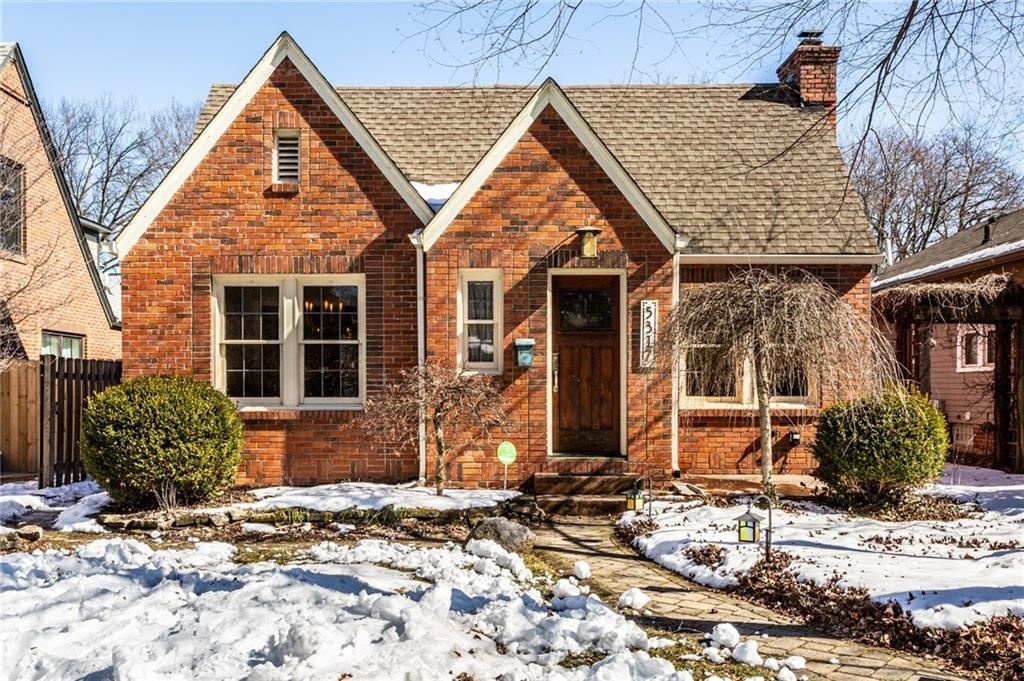 5317 North PARK Avenue, Indianapolis, IN 46220 - MLS#: 21768311