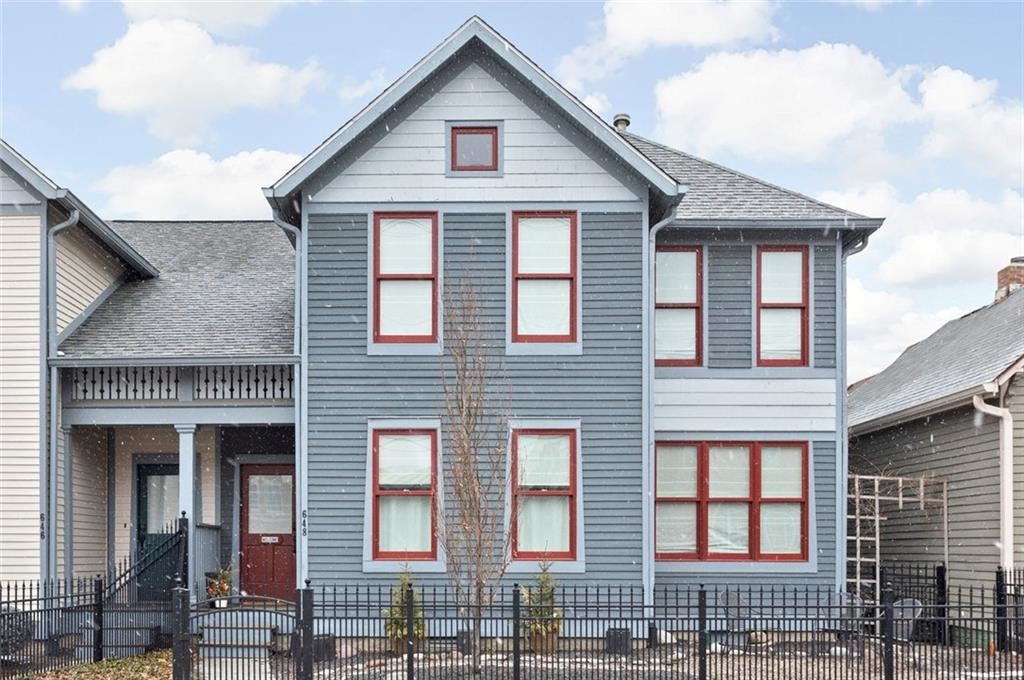 648 East Saint Clair Street, Indianapolis, IN 46202 - #: 21765314