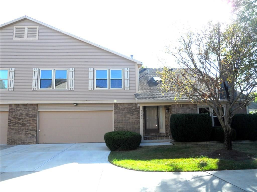 7434 CASTLETON FARMS NORTH N Drive #53, Indianapolis, IN 46256 - #: 21743315