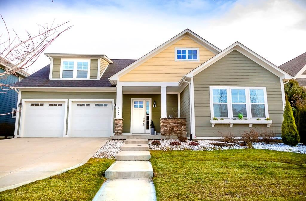 7645 Carriage House Way, Zionsville, IN 46077 - #: 21700321