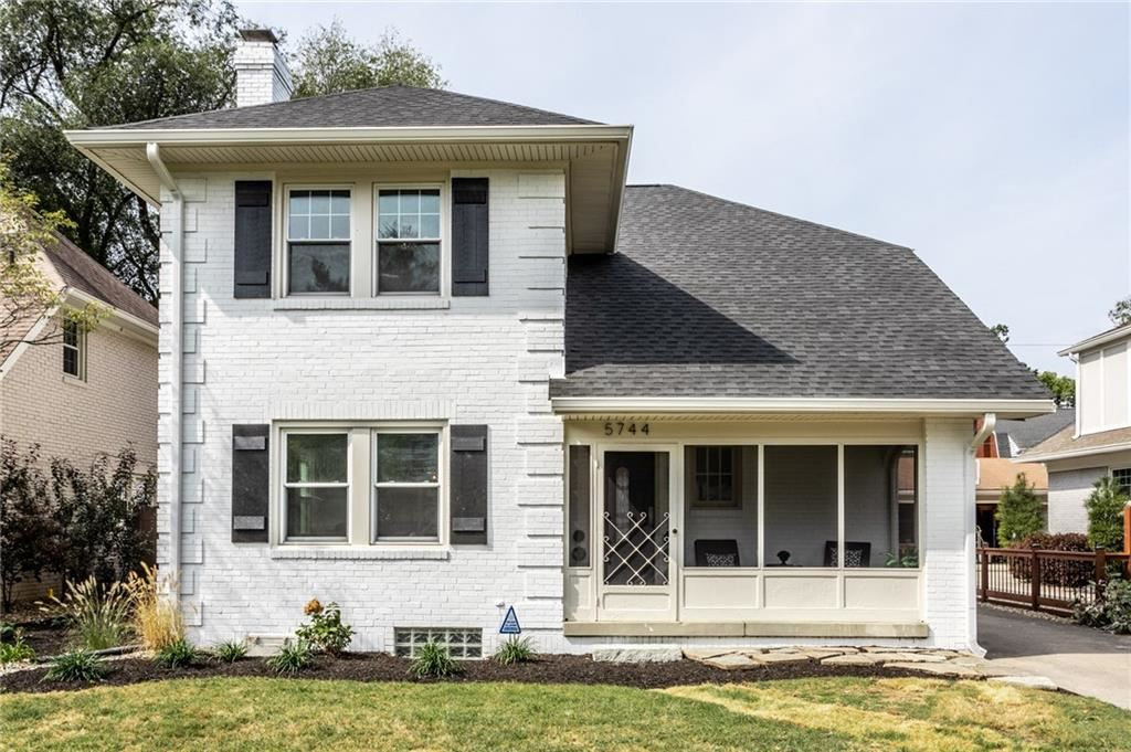 5744 North Delaware Street, Indianapolis, IN 46220 - #: 21740323