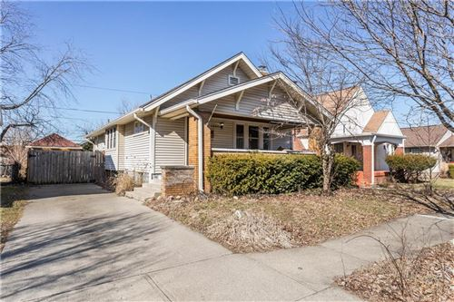 Photo of 1220 North Linwood Avenue, Indianapolis, IN 46201 (MLS # 21696327)