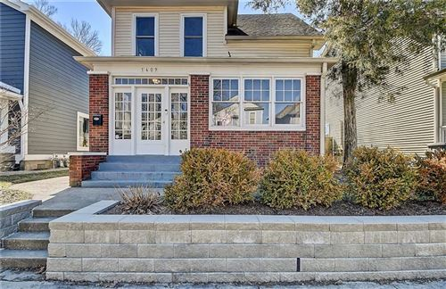 Photo of 1409 East New York Street, Indianapolis, IN 46201 (MLS # 21765350)