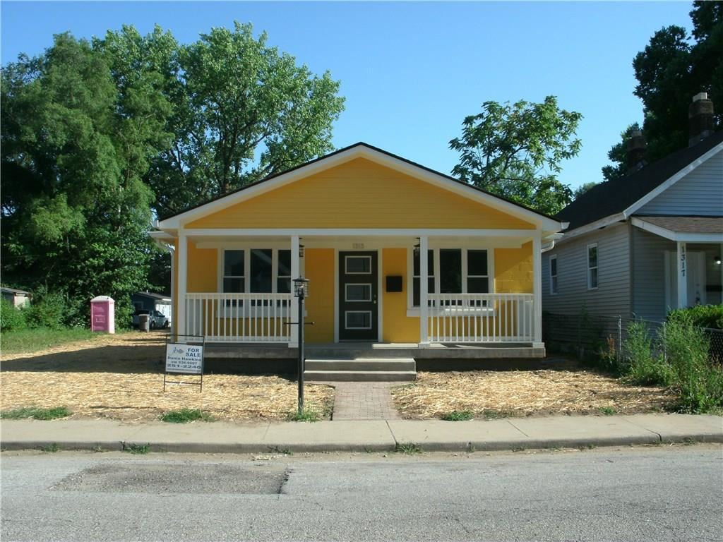 1313 West 27th Street, Indianapolis, IN 46208 - #: 21654352