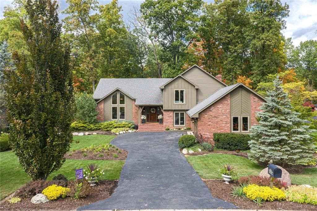 9318 SEASCAPE Drive, Indianapolis, IN 46256 - #: 21743354