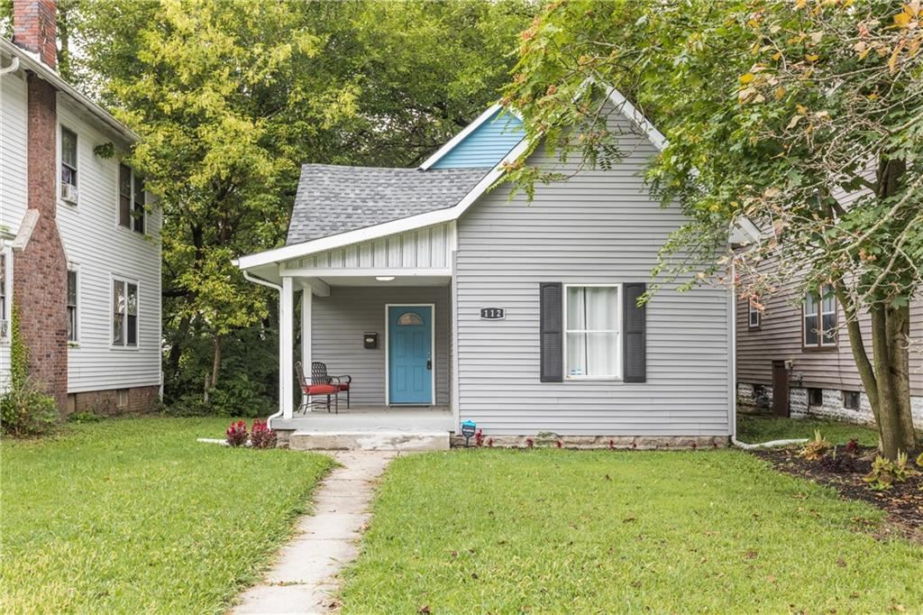 112 North Dequincy Street, Indianapolis, IN 46201 - #: 21664366