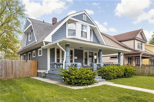 Photo of 915 North Rural Street, Indianapolis, IN 46201 (MLS # 21785372)