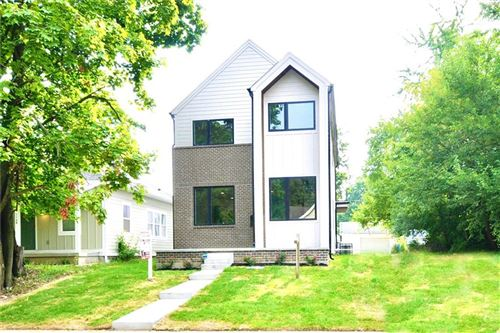 Photo of 1125 North Beville Avenue, Indianapolis, IN 46201 (MLS # 21736377)