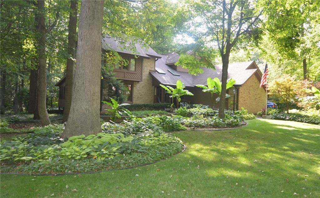 5229 Mosswood Drive, Indianapolis, IN 46254 - #: 21678377