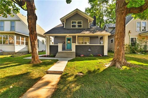 Photo of 3837 North KENWOOD Avenue, Indianapolis, IN 46208 (MLS # 21742409)