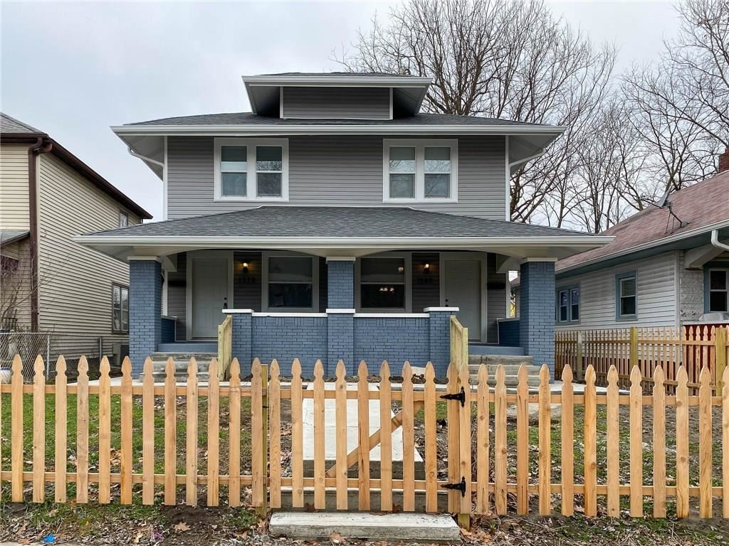 1338 North Olney Street, Indianapolis, IN 46201 - #: 21689413