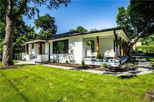 Photo of 4510 North ILLINOIS Street, Indianapolis, IN 46205 (MLS # 21718422)