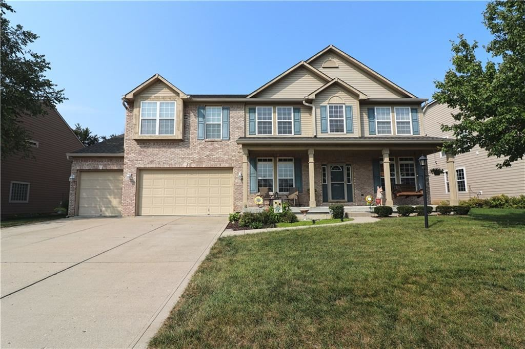 8142 Grassy Meadow Lane, Indianapolis, IN 46259 - #: 21739425