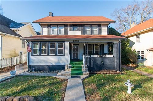 Photo of 4316 Broadway Street, Indianapolis, IN 46205 (MLS # 21681429)