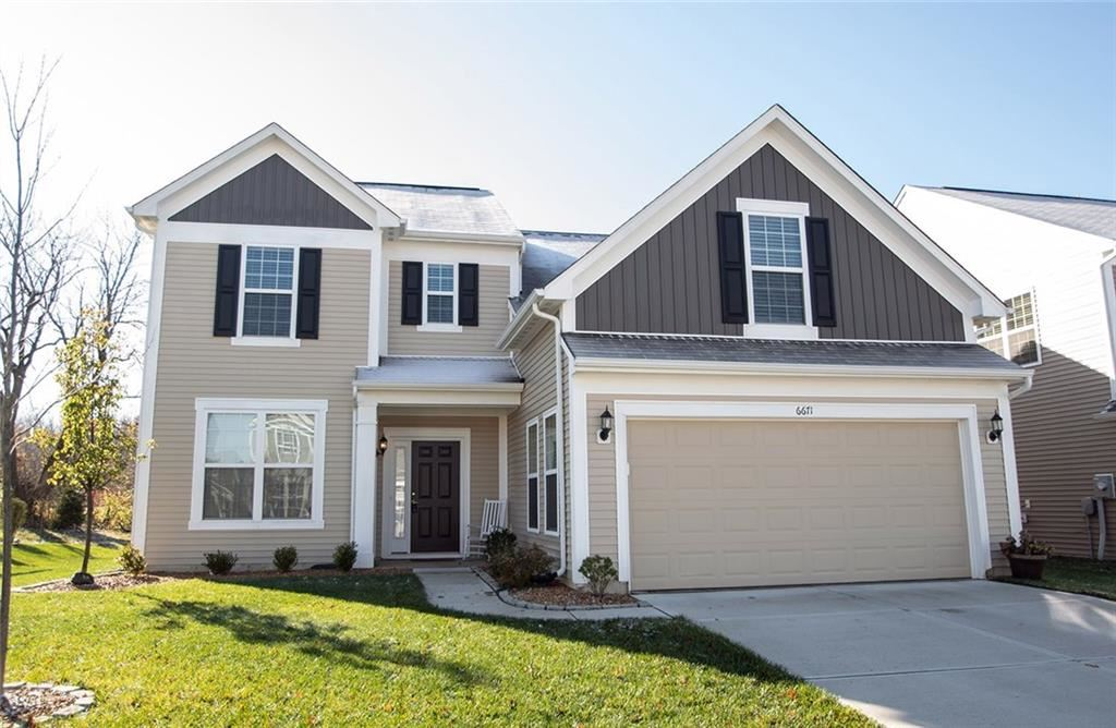 6671 Shooting Star Drive, Whitestown, IN 46075 - #: 21678430
