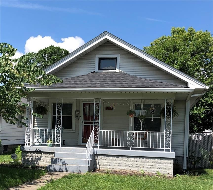 810 North Linwood Avenue, Indianapolis, IN 46201 - #: 21760431