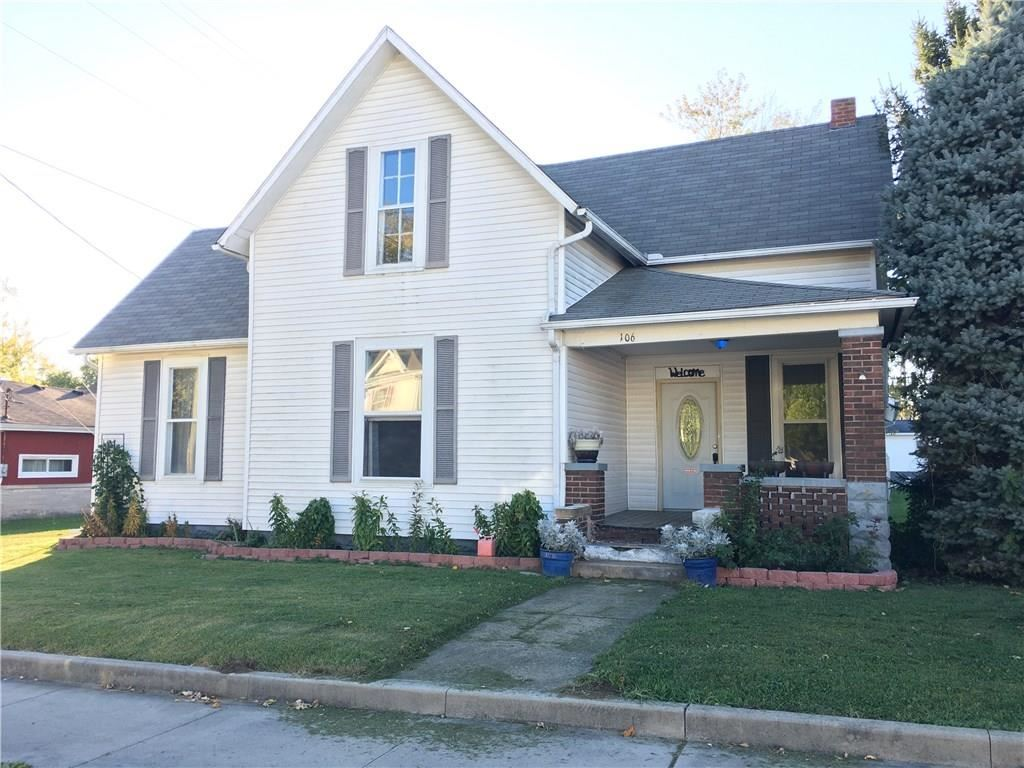 106 North Indiana Street, Roachdale, IN 46172 - #: 21678432