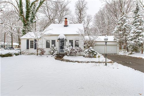 Photo of 1106 East 56th Street, Indianapolis, IN 46220 (MLS # 21686438)