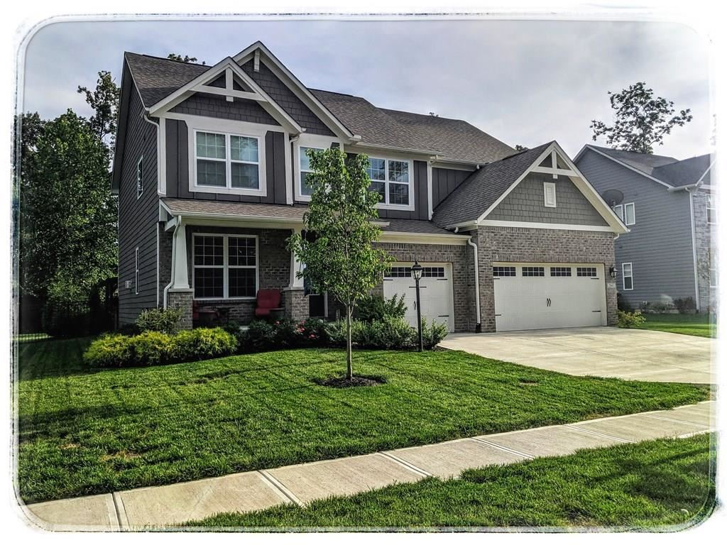 5661 Peaking Fox Drive, Indianapolis, IN 46237 - #: 21664442