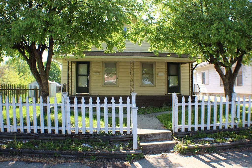 866 North Gladstone Avenue, Indianapolis, IN 46201 - #: 21698447