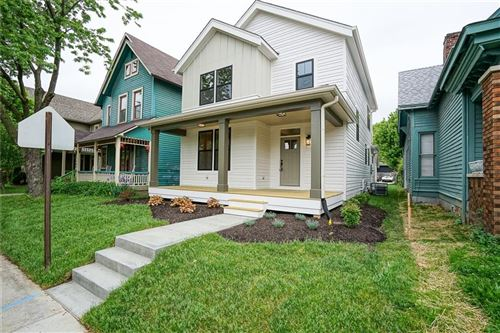 Photo of 1214 East New York Street, Indianapolis, IN 46202 (MLS # 21711456)