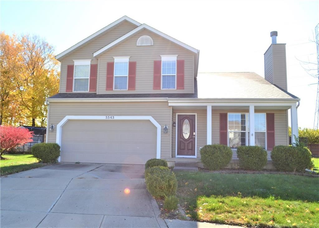 5543 FOREST RIDGE Court, Indianapolis, IN 46203 - #: 21679476