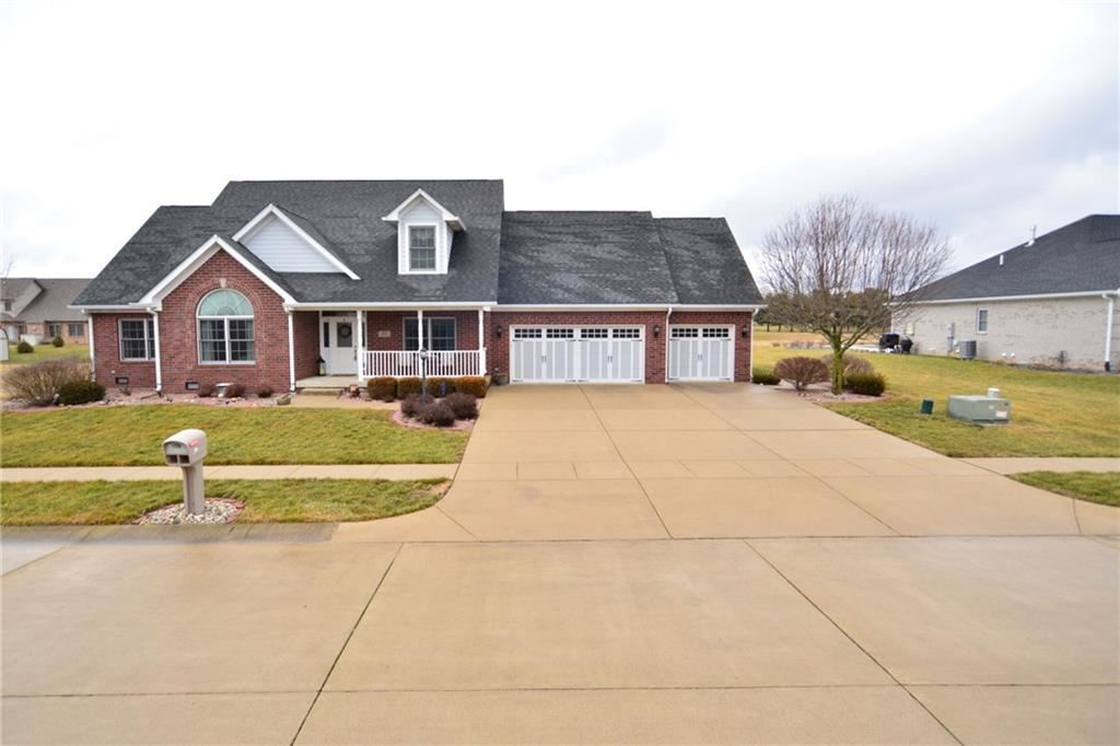 1232 Pebble Point Drive, Shelbyville, IN 46176 - #: 21757480