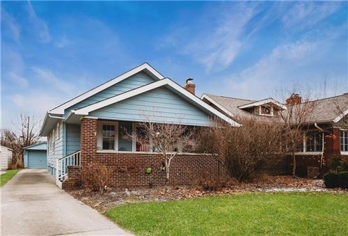 Photo of 317 North Kenyon Street, Indianapolis, IN 46219 (MLS # 21690487)