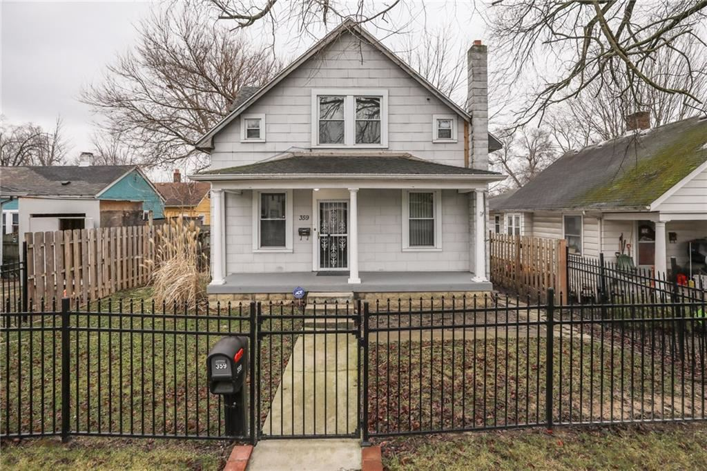 359 South Grand Avenue, Indianapolis, IN 46219 - #: 21679490