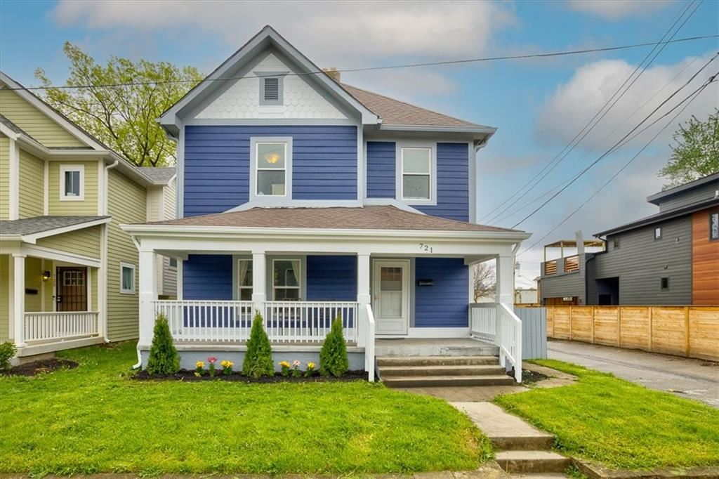 721 E 23RD Street, Indianapolis, IN 46205 - MLS#: 21781501