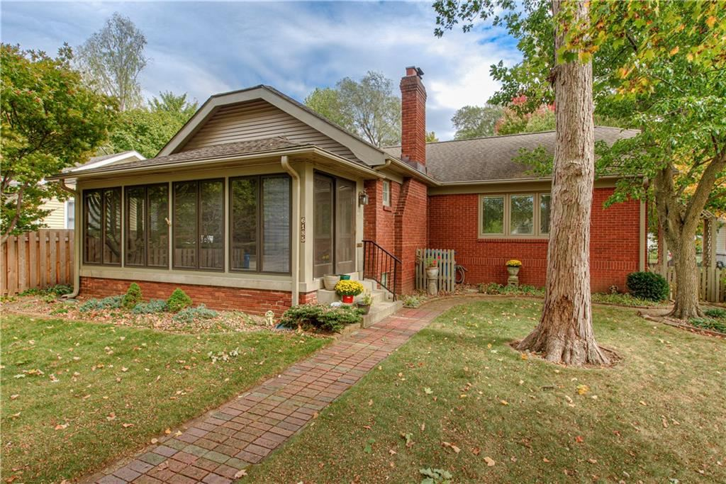 6185 North Delaware Street, Indianapolis, IN 46220 - #: 21676512