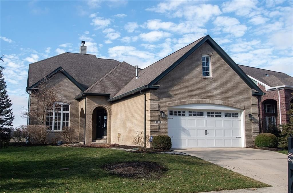 8964 Crystal River Drive, Indianapolis, IN 46240 - #: 21687518