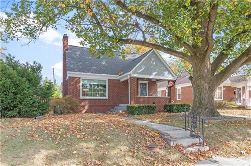Photo of 1245 North DOWNEY Avenue, Indianapolis, IN 46219 (MLS # 21742520)