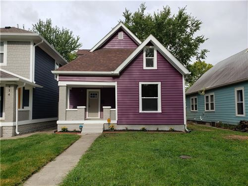 Photo of 816 North Temple Avenue, Indianapolis, IN 46201 (MLS # 21731528)