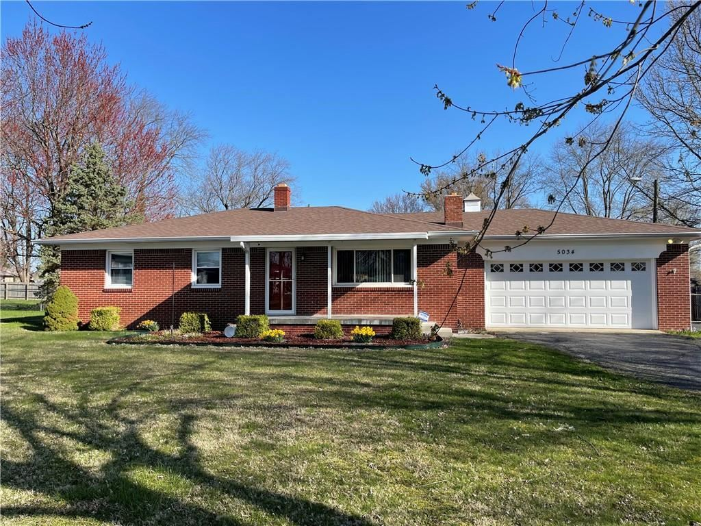 Photo of 5034 West Markwood, Indianapolis, IN 46221 (MLS # 21776541)