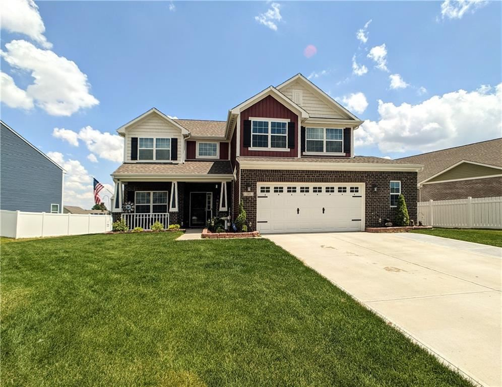 145 Blue Lace Drive, Whiteland, IN 46184 - MLS#: 21790552