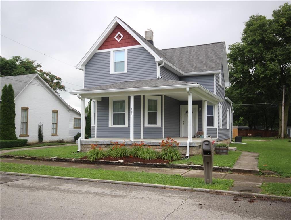 413 N East Street, Greenfield, IN 46140 - MLS#: 21798557