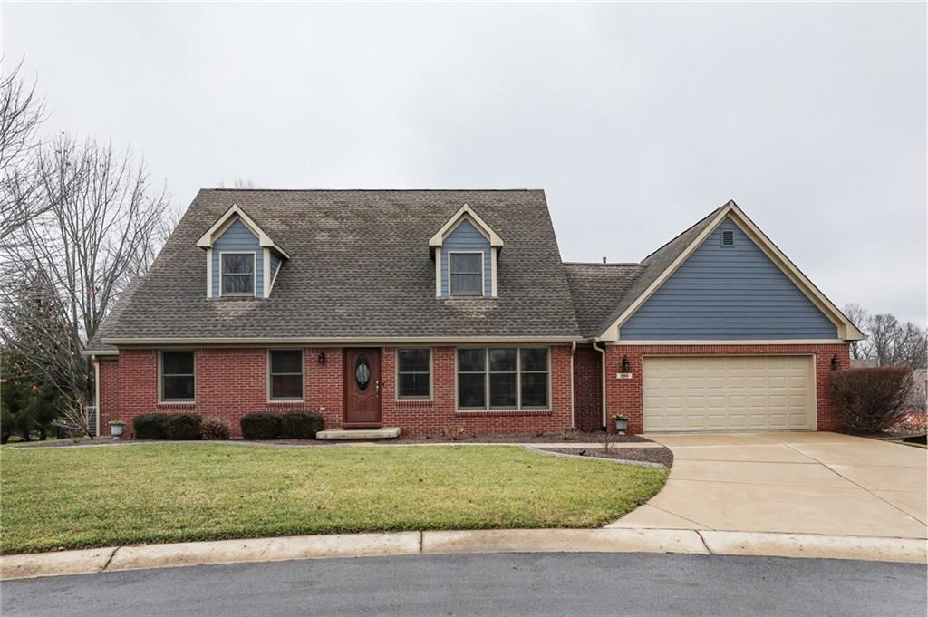 998 North High Meadow Court, Greenwood, IN 46142 - #: 21687561