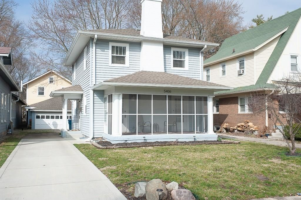 5406 BROADWAY Street, Indianapolis, IN 46220 - #: 21701562